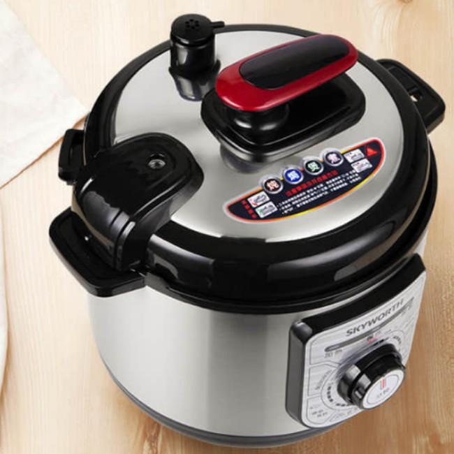 创维(Skyworth)家用智能电压力锅 5L大容量压力煲