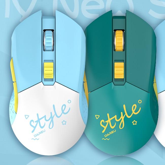 达尔优EM901可充电无线双模蓝牙无线双模鼠标电竞吃鸡游戏办公