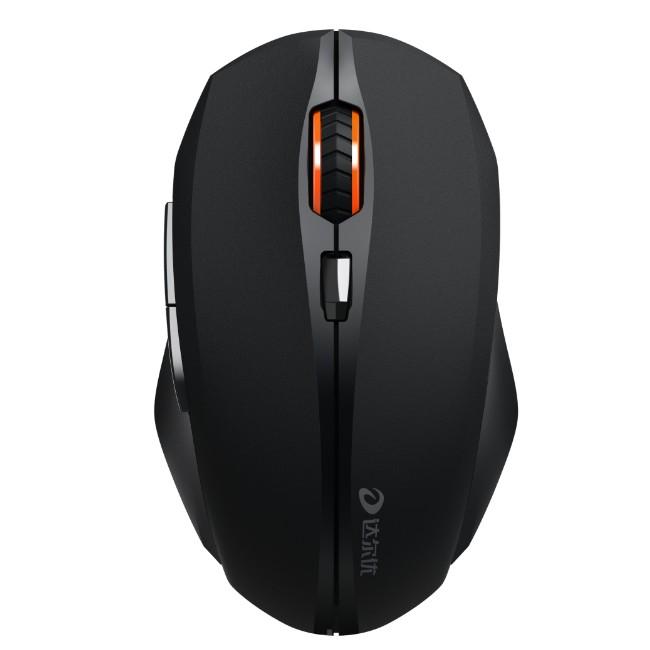 达尔优LM116G无线鼠标即插即用 采用即插即用的接收器设计 将接收器连接到电脑的USB端口 无需对码 速享无线自由