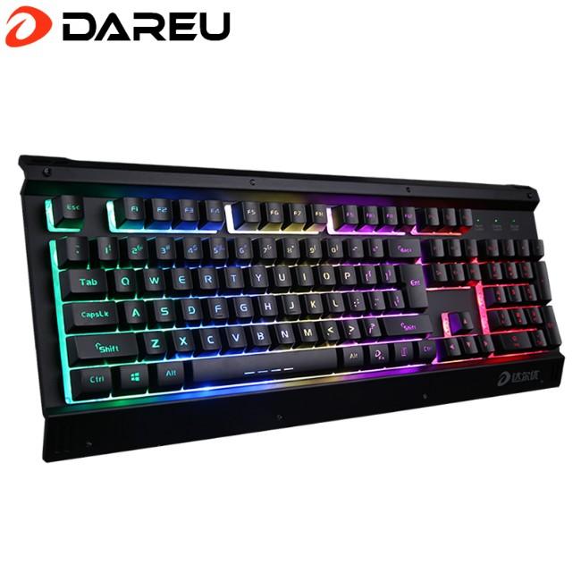 达尔优LK145键盘19键同击无冲突 基本满足主流游戏使用