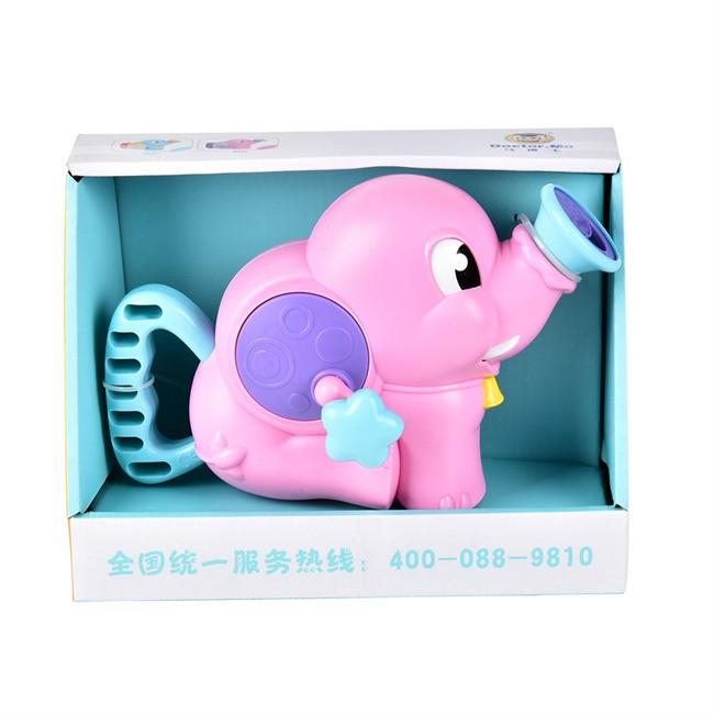 马博士 小象抽水泵 全身圆润抓握不伤小手 以光滑圆润的边角设计 给您家宝宝更有爱的光怀