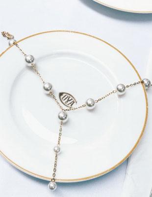 当珍珠遇到choker 美到下一秒就沦陷 一种妙不可言的东西