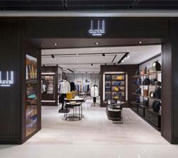 dunhill品牌香港国际金融中心精品店隆重开幕