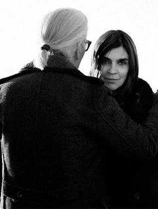 Karl Lagerfeld任命Carine Roitfeld为品牌时尚顾问