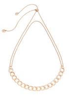 宝曼兰朵珠宝北京福彩3D开奖 玫瑰金项链布雷拉新款上市