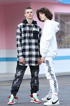 OFF BLACK:时尚魅力,新时尚服装品牌