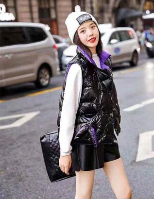 芝麻E柜女装 一件小小的马甲助力你更多的时尚穿搭
