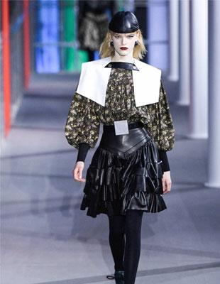 Louis Vuitton时装新品 夸张与怪诞 别有一番格调