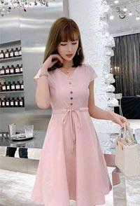 夏rili的yuanqi少nv 都应该youyijianqing新的连衣裙