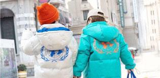 时尚棉衣外套 宾果童话守候你的冬天温暖童话!