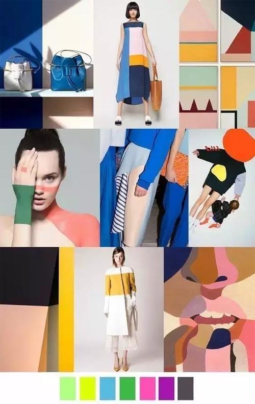 服裝資訊 女裝 正文  2017流行花紋圖案   多彩印花   抽象數碼的印花圖片