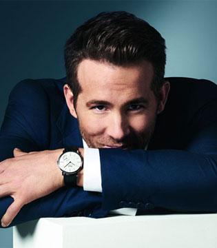 Ryan Reynolds 出任伯爵品牌男士腕表全球品牌代言人