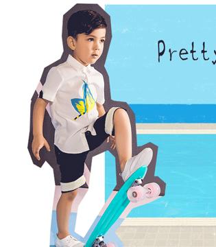 MQD马其顿时尚男童 一个夏天一个男孩的颜值