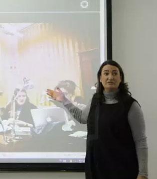 NANNINI第三代传人Sandra Nannini 走进中国高校