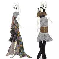 预览   2017春夏纽约时装周设计师手稿灵感