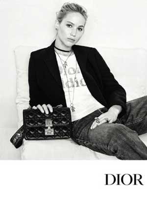 詹妮弗・劳伦斯代言Dior 2017秋季系列广告