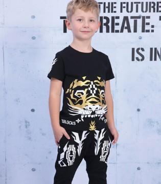 小积木夏季童装必备款搭配系列 穿出小小潮男范