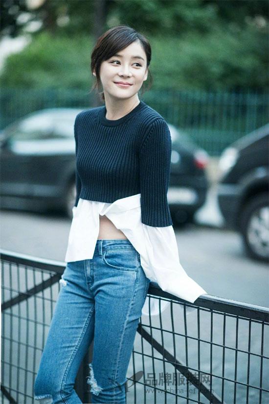 袁姗姗的2018春夏巴黎时装周之行结束 爱上了她的小心机