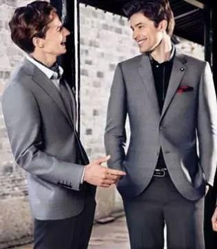 商务西装的基本色 素色王道 职业人西装颜色怎么选