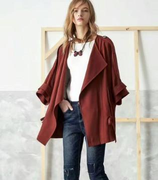 SUMMER CYPRESS夏柏女装2017秋季新品 感受落叶的气息
