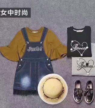 JMBEAR杰米熊品牌童装2017秋季新品 时尚潮童非你莫属