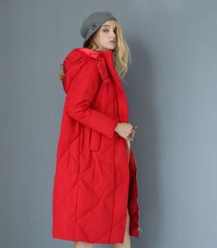 K-reul格忆女装品牌中长款时尚羽绒服系列