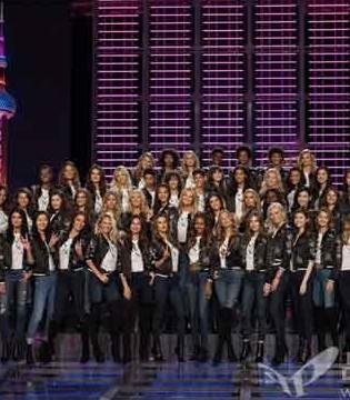 2017维密大秀 代表17个国家的55个超模 今日集结上海