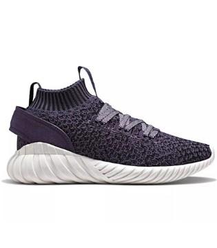 adidas Tubular Doom Soc全新黑色和浅紫配色释出