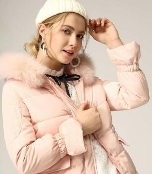 城市衣柜时尚女装 爱上简约主义 爱上温暖的羽绒大衣