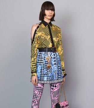 范思哲2018早秋女装系列Lookbook 华丽而严谨的魅惑色彩