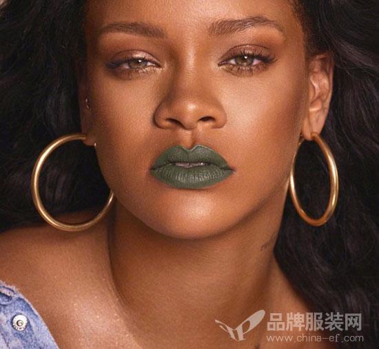 Rihanna个人彩妆品牌Fenty Beauty全新哑光唇膏系列来袭