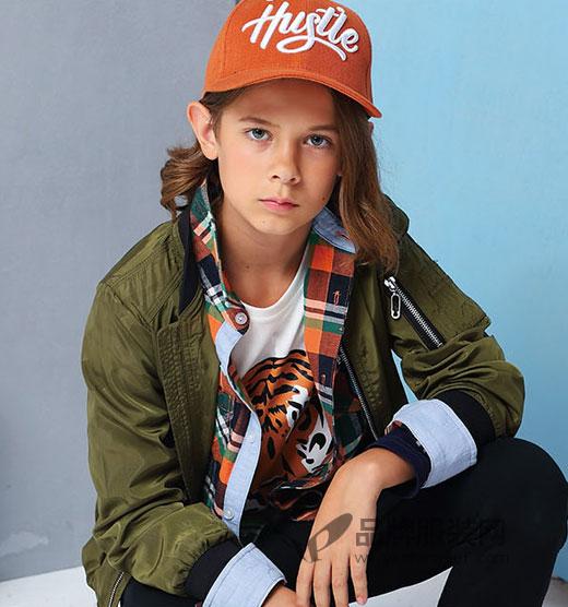 穿上小猪班纳品牌童装 一起走在时尚的终点