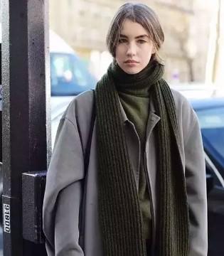 艾丽哲 女人穿大衣这样戴围巾 竟然这么美