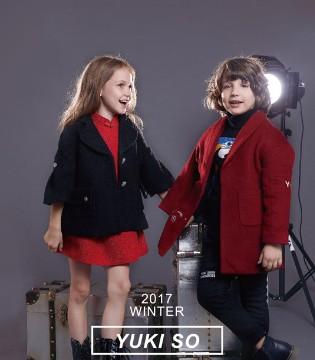 时尚炫酷的品牌童装YukiSo 让新生代孩子们爱不释手