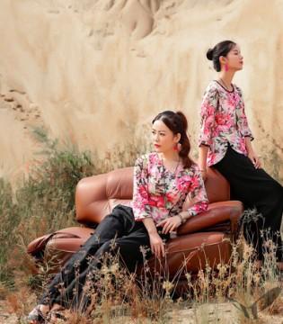 曼茜纱·2018春 复古与时尚的一种碰撞