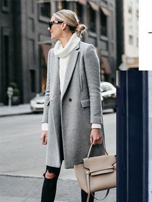 粉蓝时尚以温暖的时髦方式出发 穿出冬日的满分气质