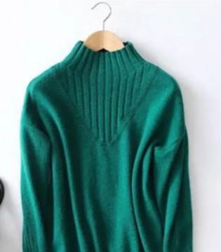 艾�从牌� 冬季女士新品时尚羊毛衫