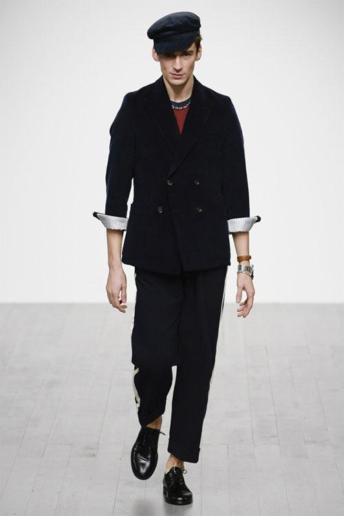 复古风情 英国设计师品牌Oliver Spencer2018秋冬男装秀