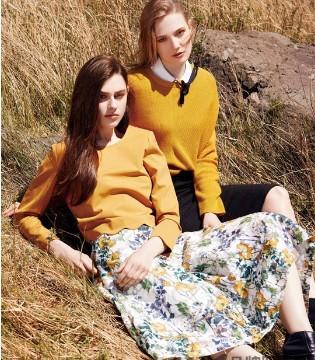 美妙的故事正在发生 名实品牌女装2018春款全面上新