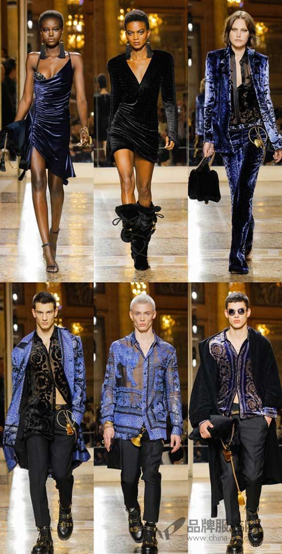 Versace 2018秋冬系列亮相米兰时装周 野性而神秘
