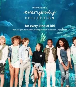 美国休闲品牌Abercrombie&Fitch推出中性系列童装