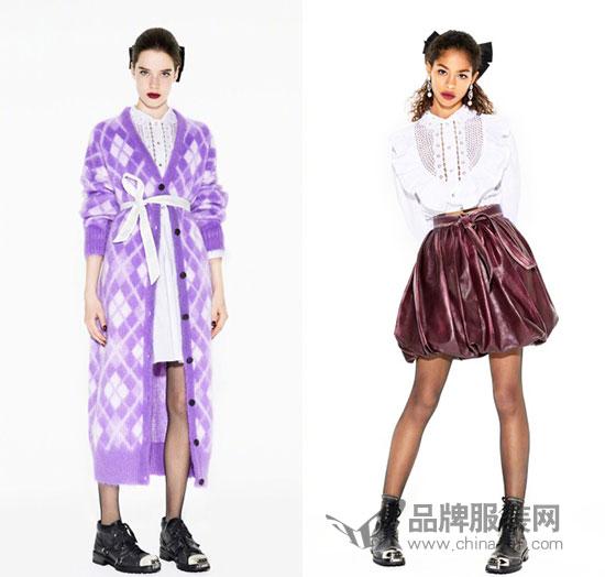 Miu Miu 2018早秋lookbook释出 复古蝴蝶结女郎超吸睛