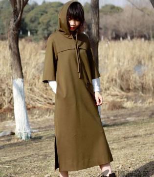 底色2018春款 大衣披身 美丽与自然无缝对接