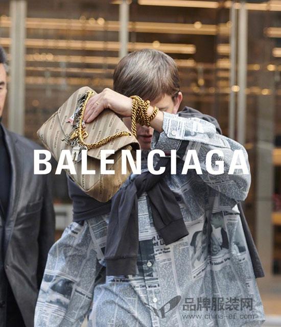 法国狗仔队执镜的Balenciaga 2018春夏广告大片释出啦