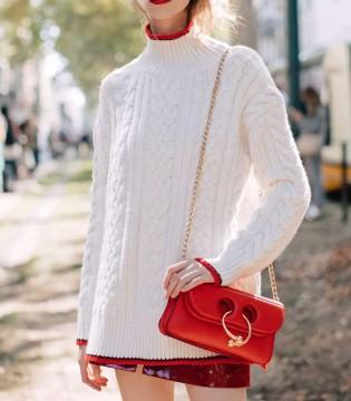 """JMY女包 先给新春发个""""红包""""红色包包有多惊艳?"""