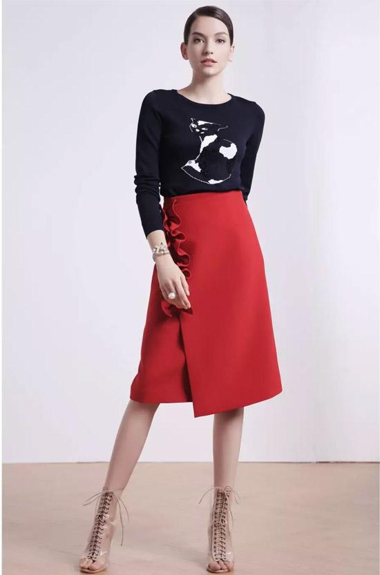 红贝缇 复古的刺绣元素 让你轻松进阶成高段位时髦精