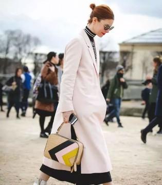 春美多 冬季要保暖更要有气质 翻领外套+高领衫搭配