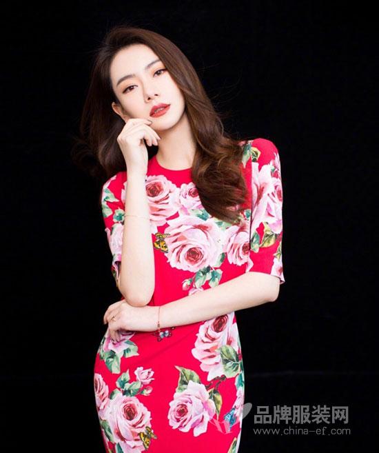 时尚辣妈戚薇最新中国红写真大片曝光 年味儿十足