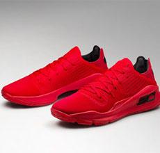 Under Armour 推出限量版Curry 4 low红色篮球鞋