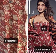 Dior 2018早春度假系列印花裙被指抄袭印度设计师作品